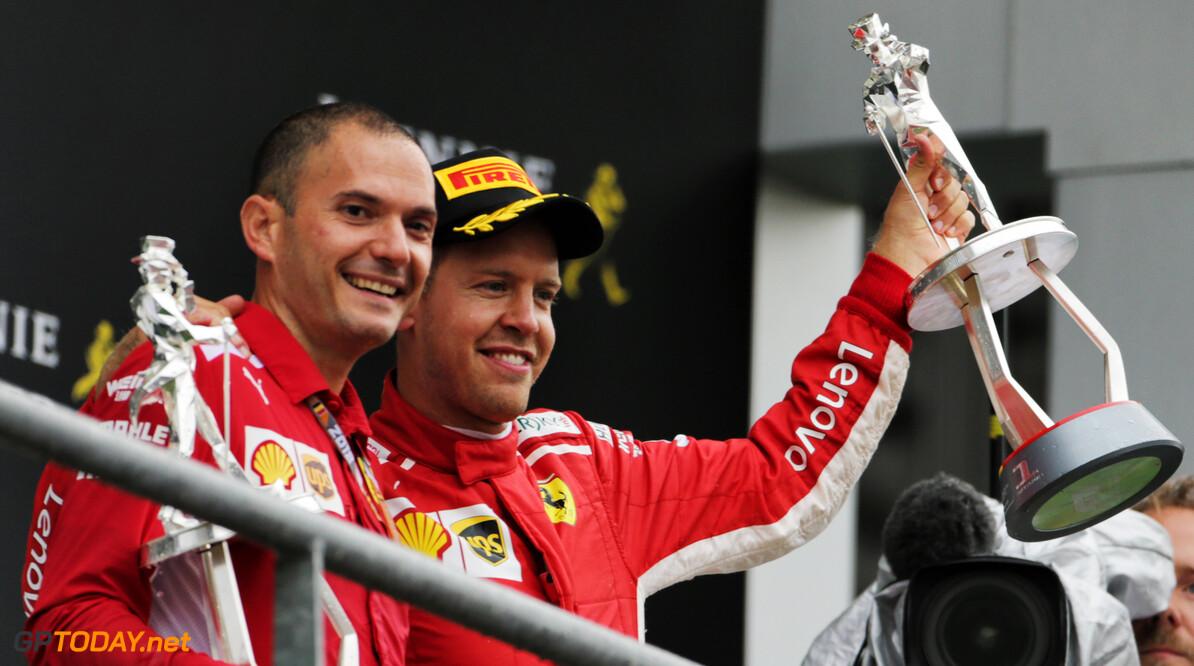 """Vettel: """"Ik kan de wereldtitel nog steeds winnen"""""""