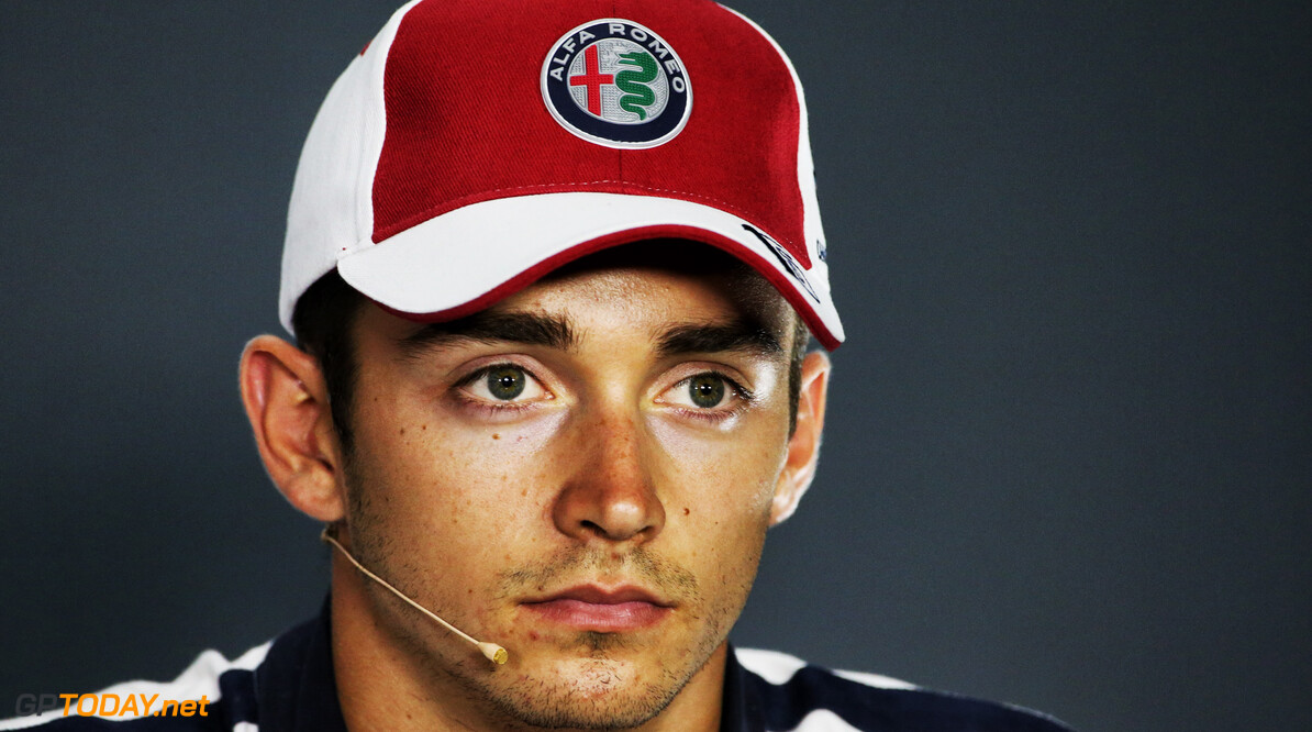 Ferrari signed Leclerc until at least 2022