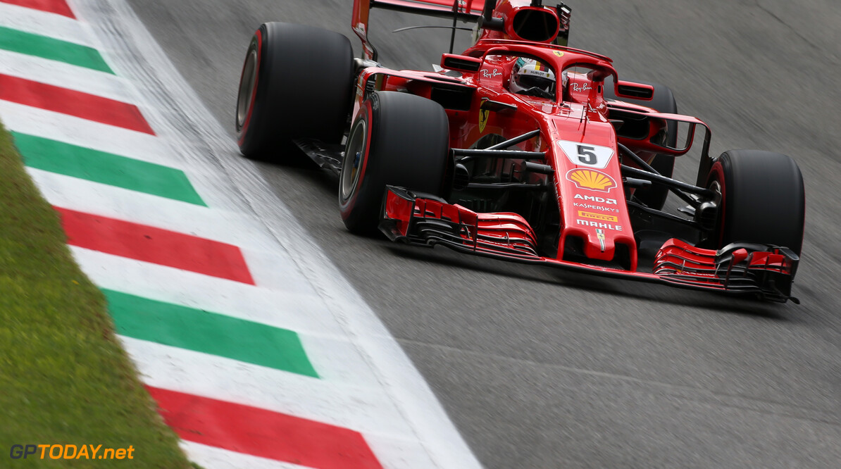 Vettel blames himself for Parabolica spin