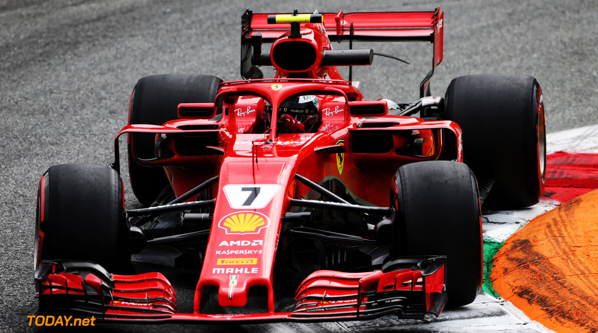 Raikkonen takes pole for Italian GP
