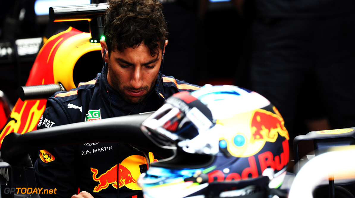 "Teleurgestelde Ricciardo: ""Verloren snelheid naar mate sessie vorderde"""