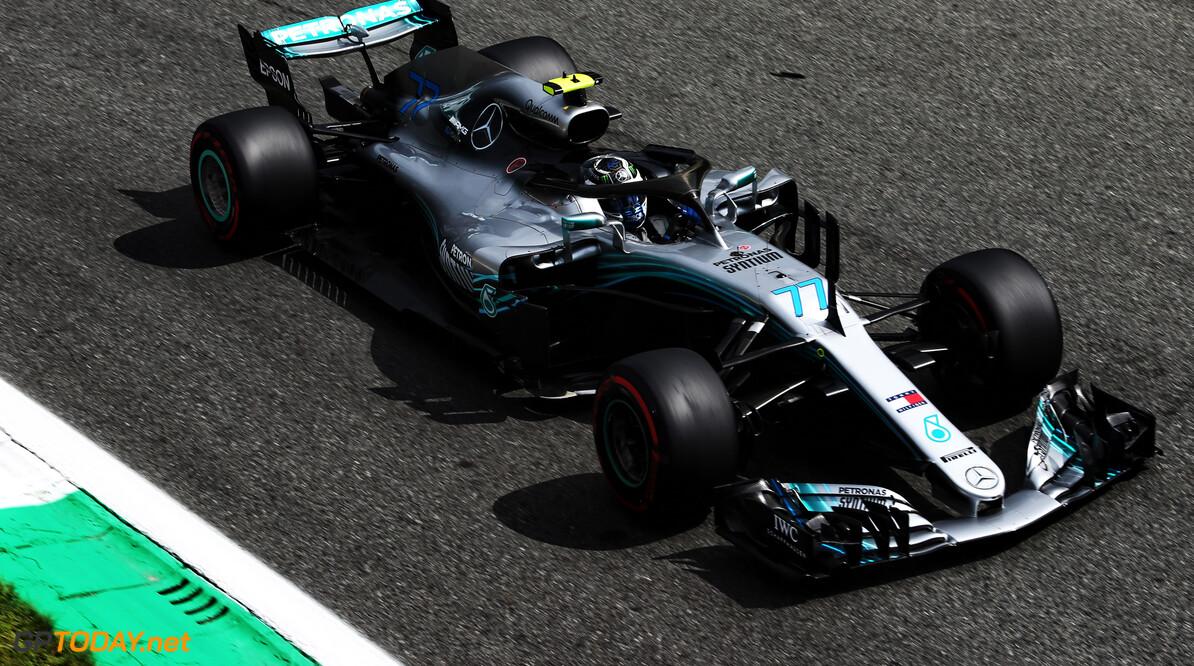 Bottas lost performance under braking during qualifying