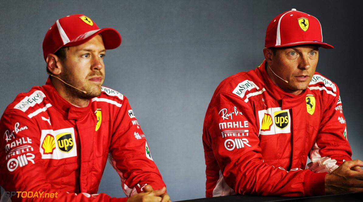 "Vettel ""sad"" to lose Raikkonen as teammate"