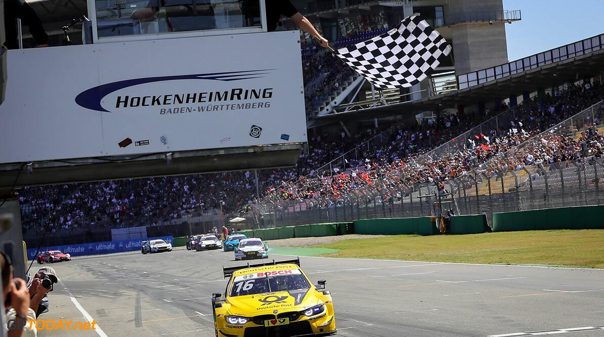 Motorsports: DTM race Hockenheimring, Saison 2018 - 1. Event Hockenheimring, GER, Timo Glock, ( D, BMW Team RMG ) Motorsports: DTM race Hockenheimring Gruppe C / Hoch Zwei   Germany  VersandPartnerDTM VersandPartnerStandard Zieldurchfahrt