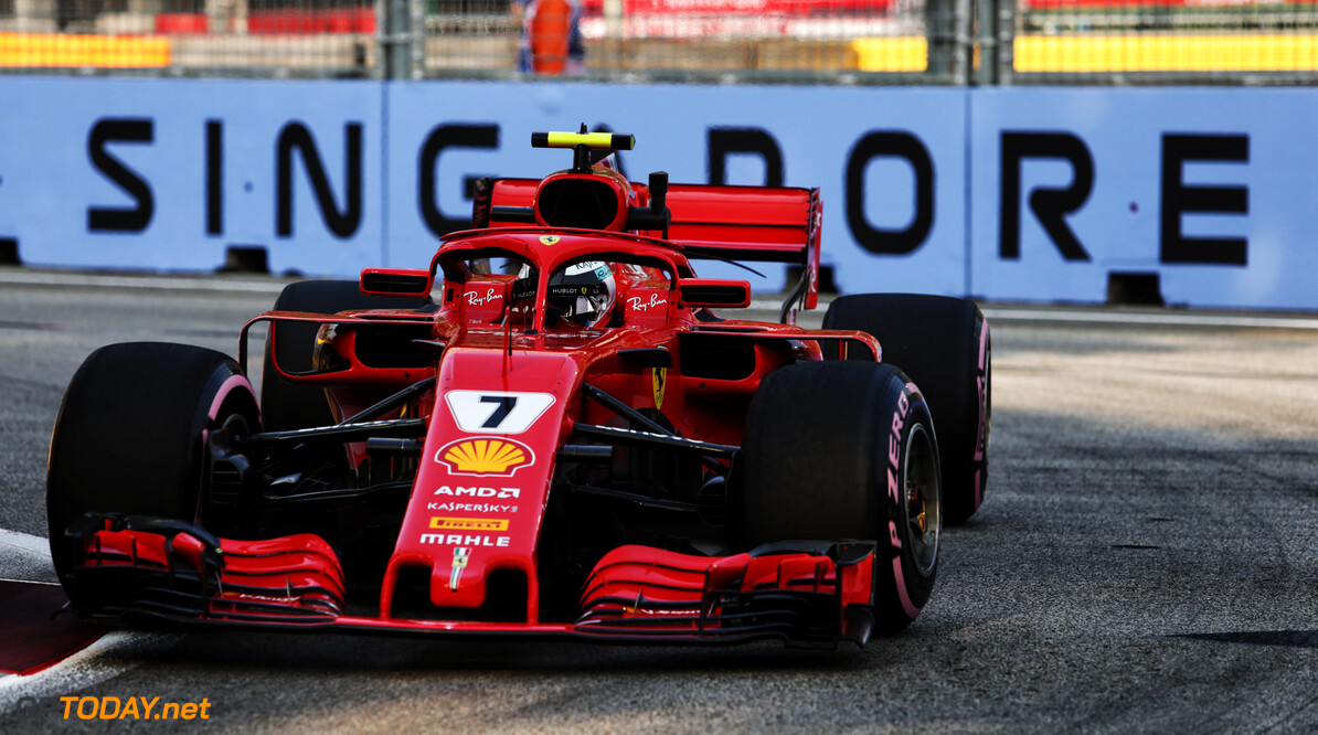FP2: Raikkonen leads Hamilton after second practice