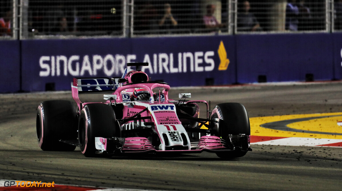 Perez, Sirotkin say penalties recieved in Singapore GP were fair