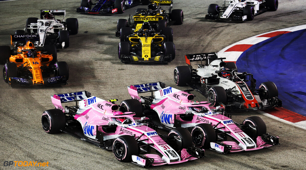 Force India may bring back team orders after lap 1 collision