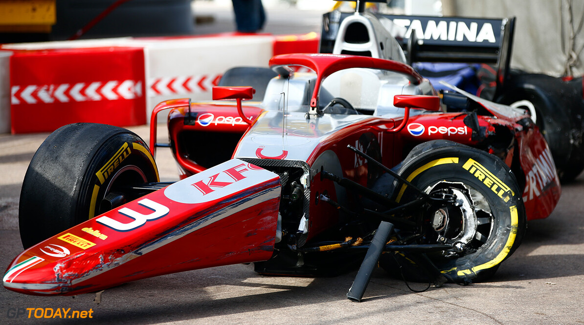 FIA Formula 2 Series - Round 4.  Monte Carlo, Monaco.  Saturday 26 May 2018.  Sean Gelael (IDN, PERTAMINA PREMA Theodore Racing).  World Copyright: Andy Hone / FIA Formula 2.  ref: Digital Image  Andy Hone    f2 Race 2 Race action