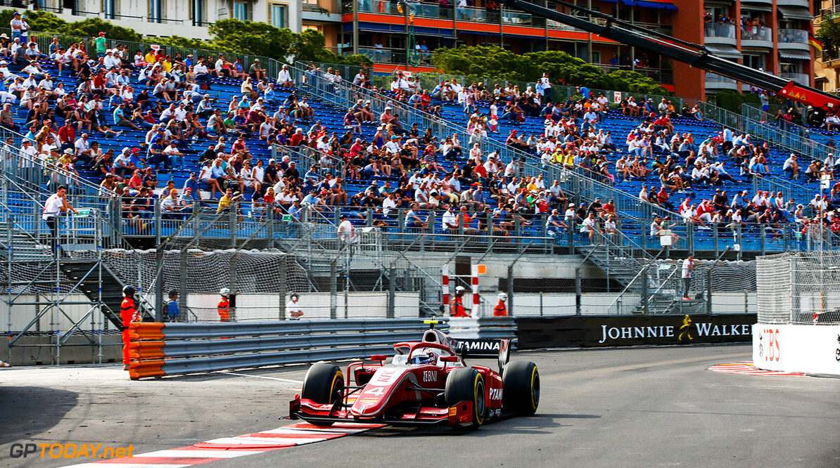 FIA Formula 2 Series - Round 4.  Monte Carlo, Monaco.  Saturday 26 May 2018.  Nyck De Vries (NLD, PERTAMINA PREMA Theodore Racing).  World Copyright: Andy Hone / FIA Formula 2.  ref: Digital Image  Andy Hone    f2 Race 2 Race action