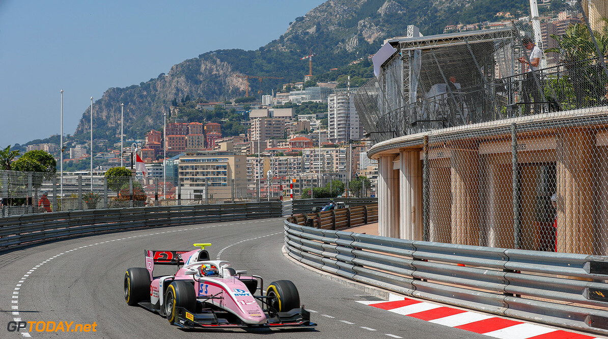 FIA Formula 2 Series - Round 4.  Monte Carlo, Monaco.  Friday 25 May 2018.  Nirei Fukuzumi (JPN, BWT Arden).  World Copyright: Joe Portlock / FIA Formula 2.  ref: Digital Image   Joe Portlock    f2 Race 1 Race Action