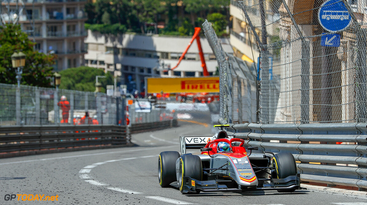 FIA Formula 2 Series - Round 4.  Monte Carlo, Monaco.  Friday 25 May 2018.  Roy Nissany (ISR, Campos Vexatec Racing).  World Copyright: Joe Portlock / FIA Formula 2.  ref: Digital Image   Joe Portlock    f2 Race 1 Race Action