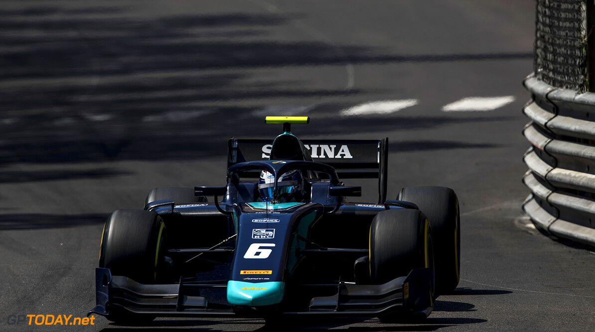 FIA Formula 2 Series - Round 4. Monte Carlo, Monaco. Friday 25 May 2018. Nicholas Latifi (CAN, DAMS).  World Copyright: Zak Mauger / FIA Formula 2. ref: Digital Image   Zak Mauger    f2 race one 1 feature action
