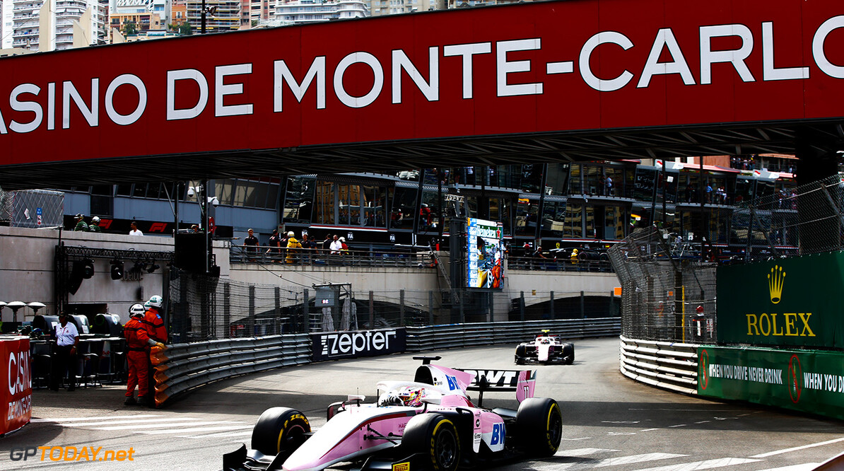 FIA Formula 2 Series - Round 4.  Monte Carlo, Monaco.  Saturday 26 May 2018.  Maximilian Gunther (DEU, BWT Arden).  World Copyright: Andy Hone / FIA Formula 2.  ref: Digital Image  Andy Hone    f2 Race 2 Race action