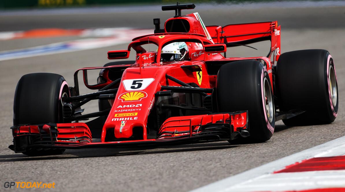 Vettel admits Ferrari is on the back foot