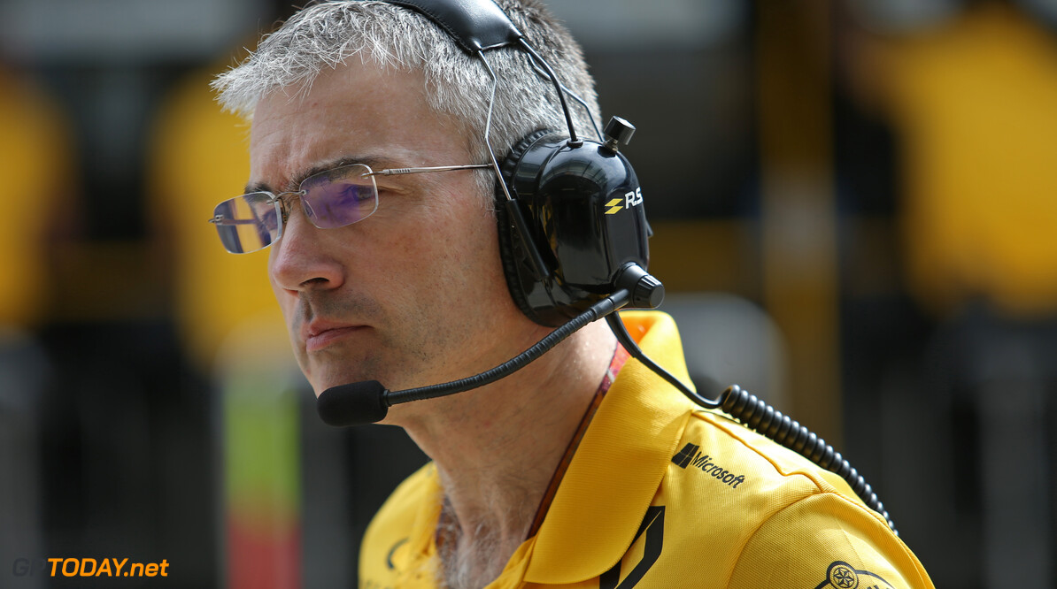 Nick Chester (GBR) Renault Sport F1 Team Chassis Technical Director 28.09.2018. Formula 1 World Championship, Rd 16, Russian Grand Prix, Sochi Autodrom, Sochi, Russia, Practice Day. - www.xpbimages.com, EMail: requests@xpbimages.com - copy of publication required for printed pictures. Every used picture is fee-liable. © Copyright: Charniaux / XPB Images