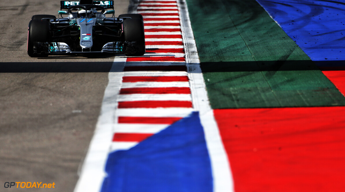 <strong>Qualifying:</strong> Bottas beats Hamilton to pole in Sochi
