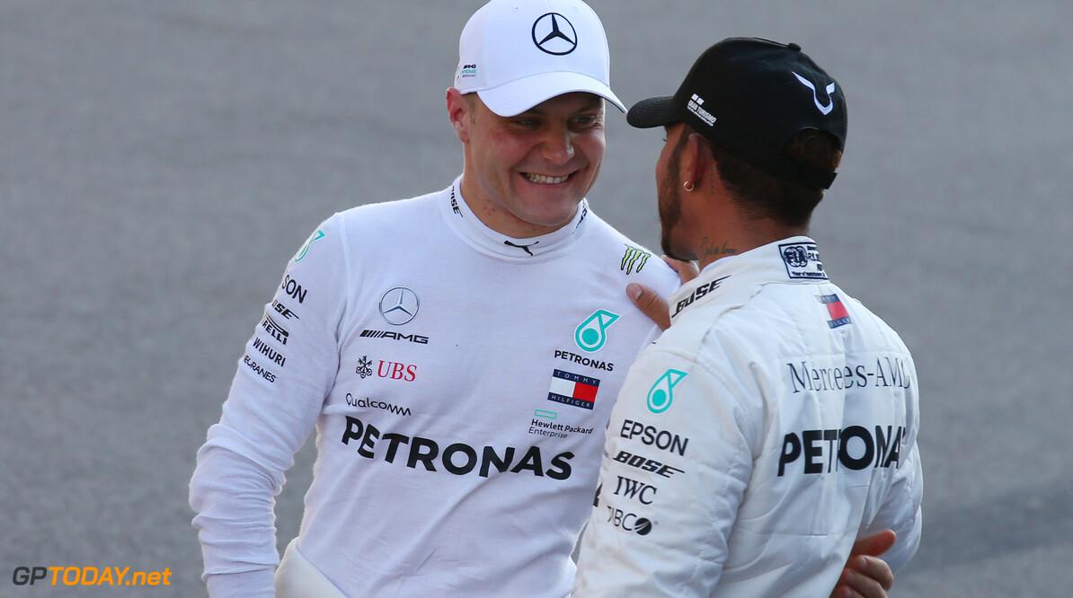 """Hamilton: """"Bottas een gentleman toen hij me voorbij liet gaan"""""""