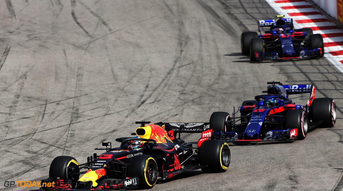 Toro Rosso is bereid om testteam te zijn voor Red Bull Racing