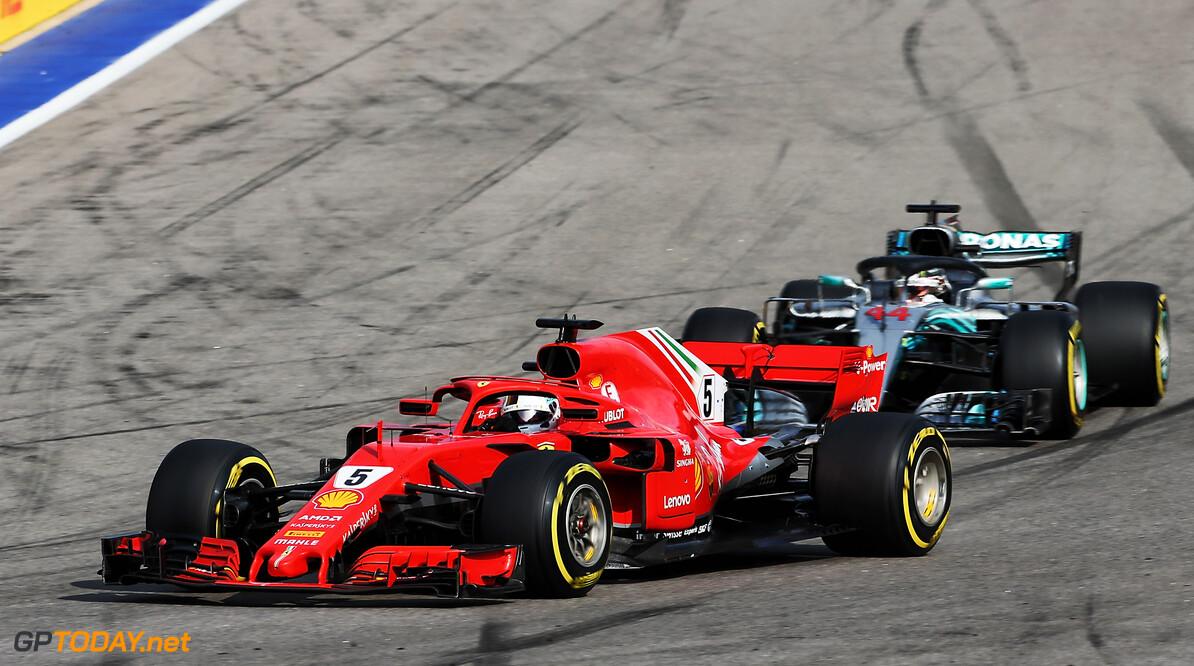 'Tiny lock-up' aided Hamilton past Vettel