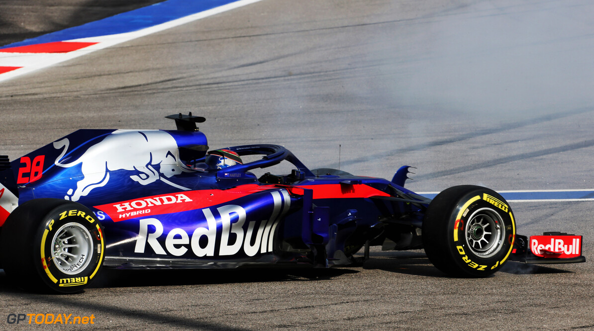 Double brake failure put an end to Toro Rosso's day