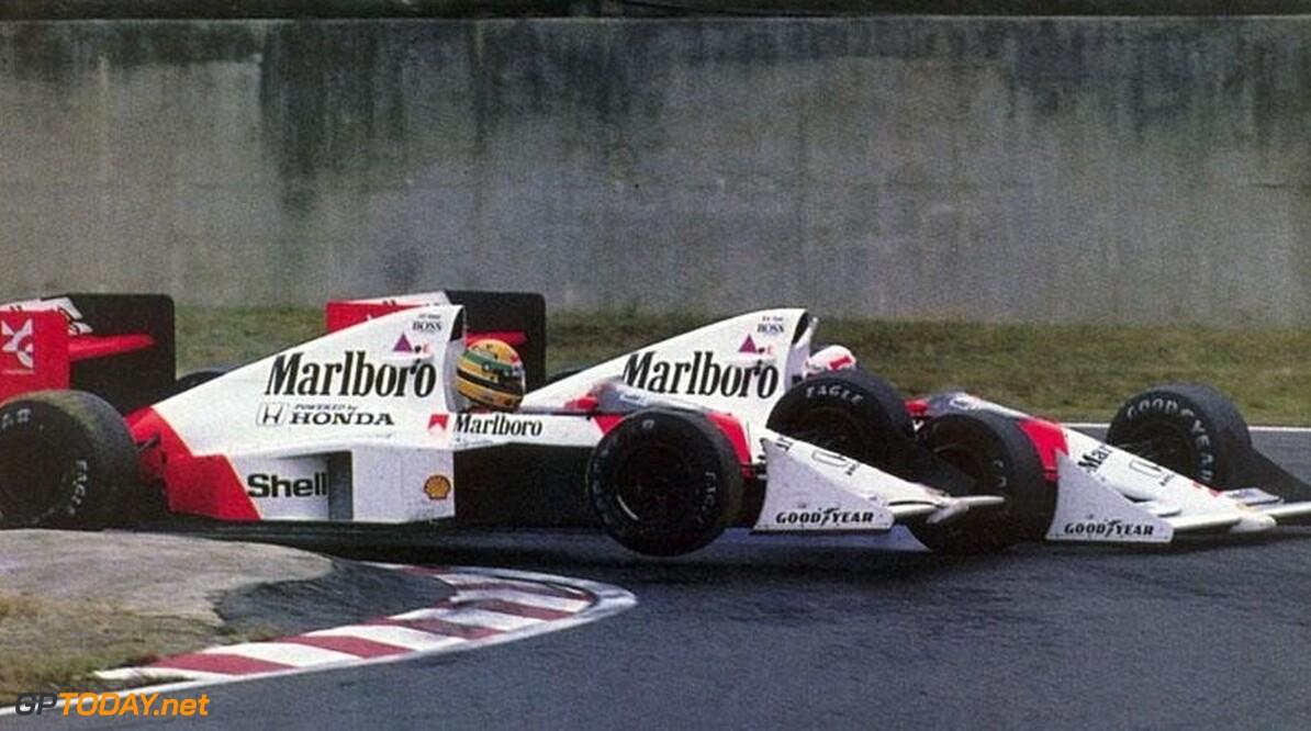 Historie: De Japanse Grands Prix van 1989 en 1990 Prost vs Senna