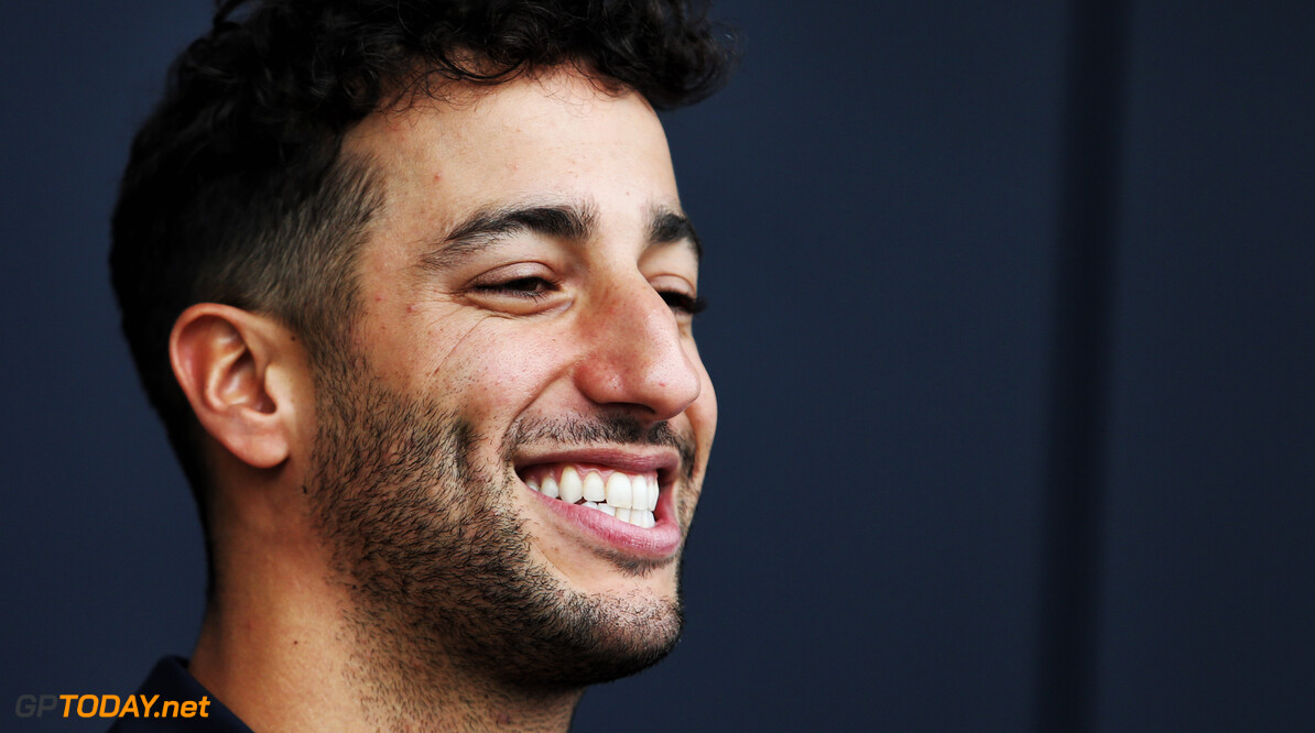 Ricciardo makes first appearance in Renault colours
