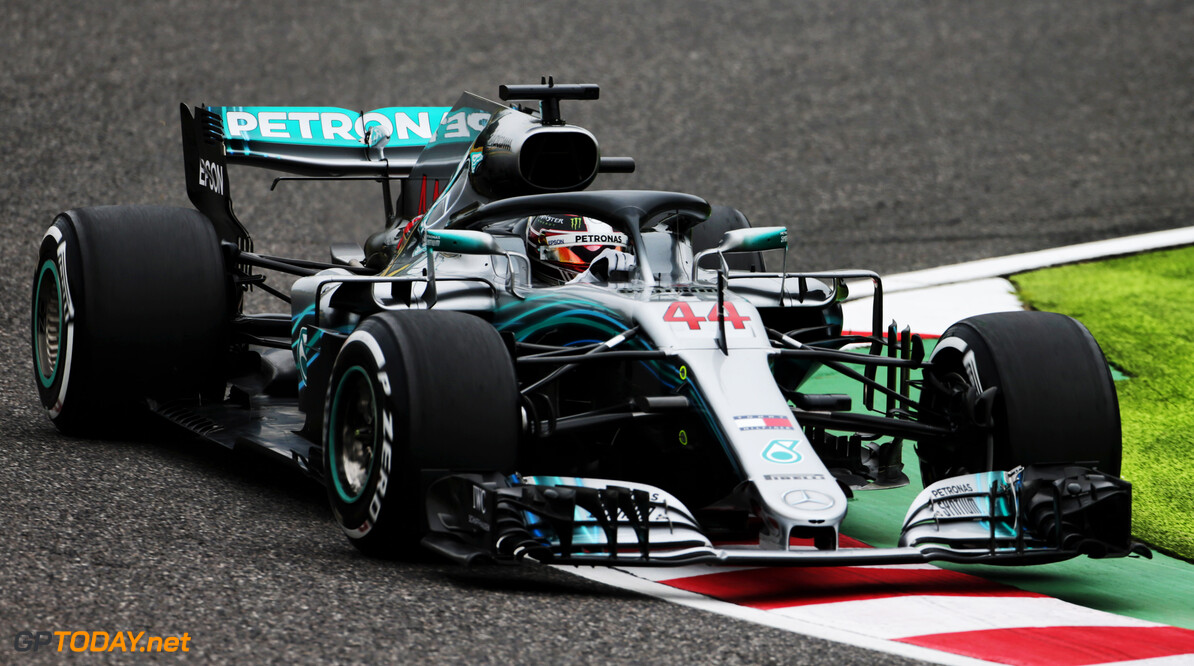 <strong>FP1:</strong> Hamilton leads Bottas in Japan
