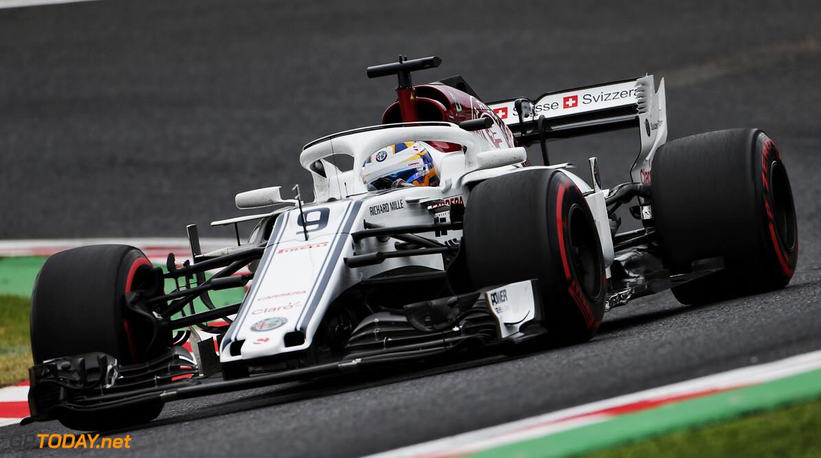 Marcus Ericsson crasht in Q1 door langzaam rijdende Bottas