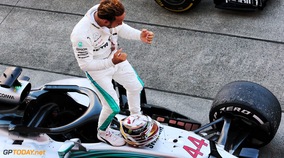 Hamilton has showed 'class act' in 2018 - Wolff