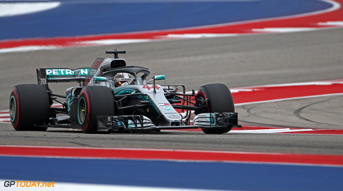 <strong>Qualifying:</strong> Hamilton bags pole for US Grand Prix