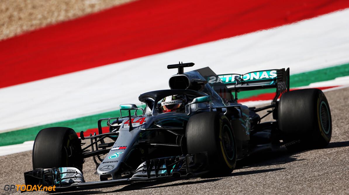 """Lewis Hamilton genoot: """"Gelukkig moesten we er echt voor racen"""""""