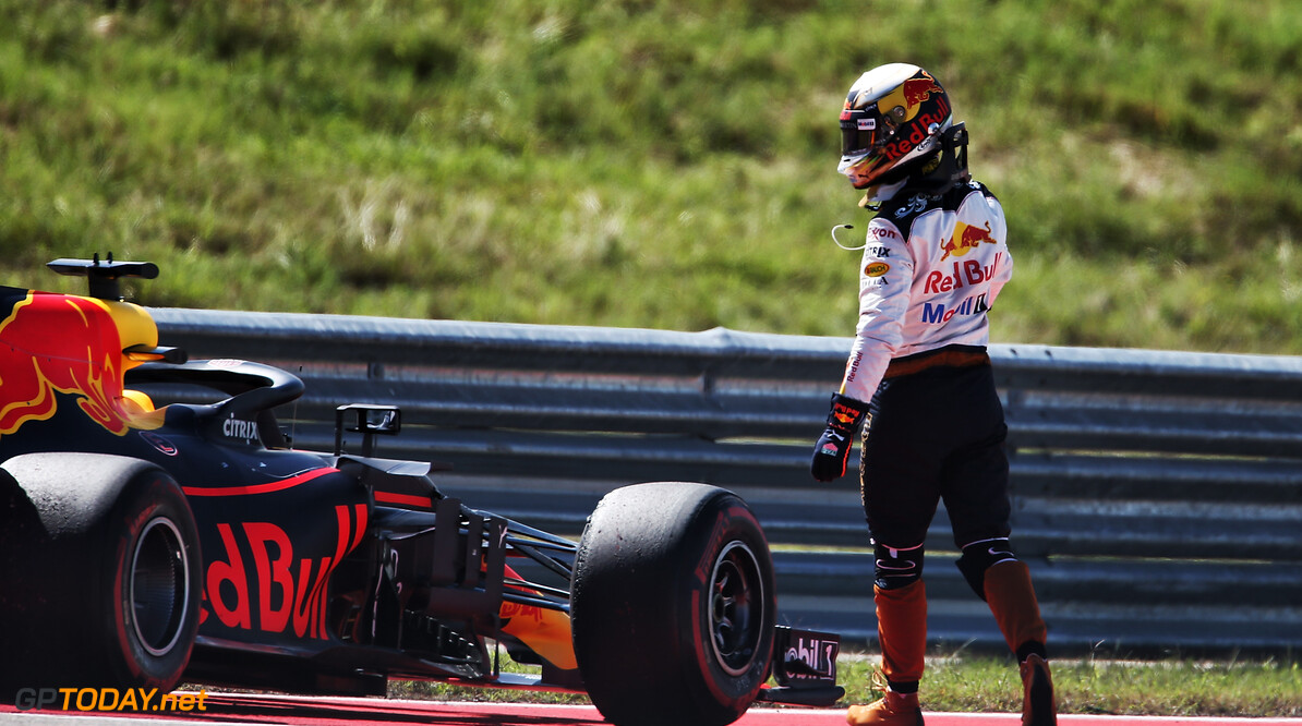 """Ricciardo: """"Laat Gasly deze auto maar besturen, ik ben er klaar mee"""""""