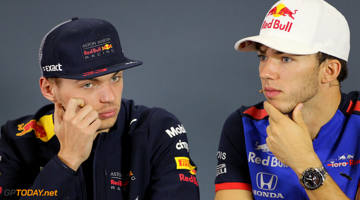 Verstappen a 'perfect reference' for Gasly