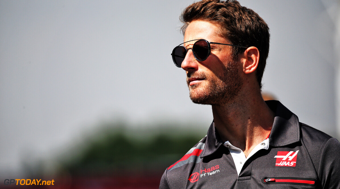 Grosjean pleased with qualifying performance