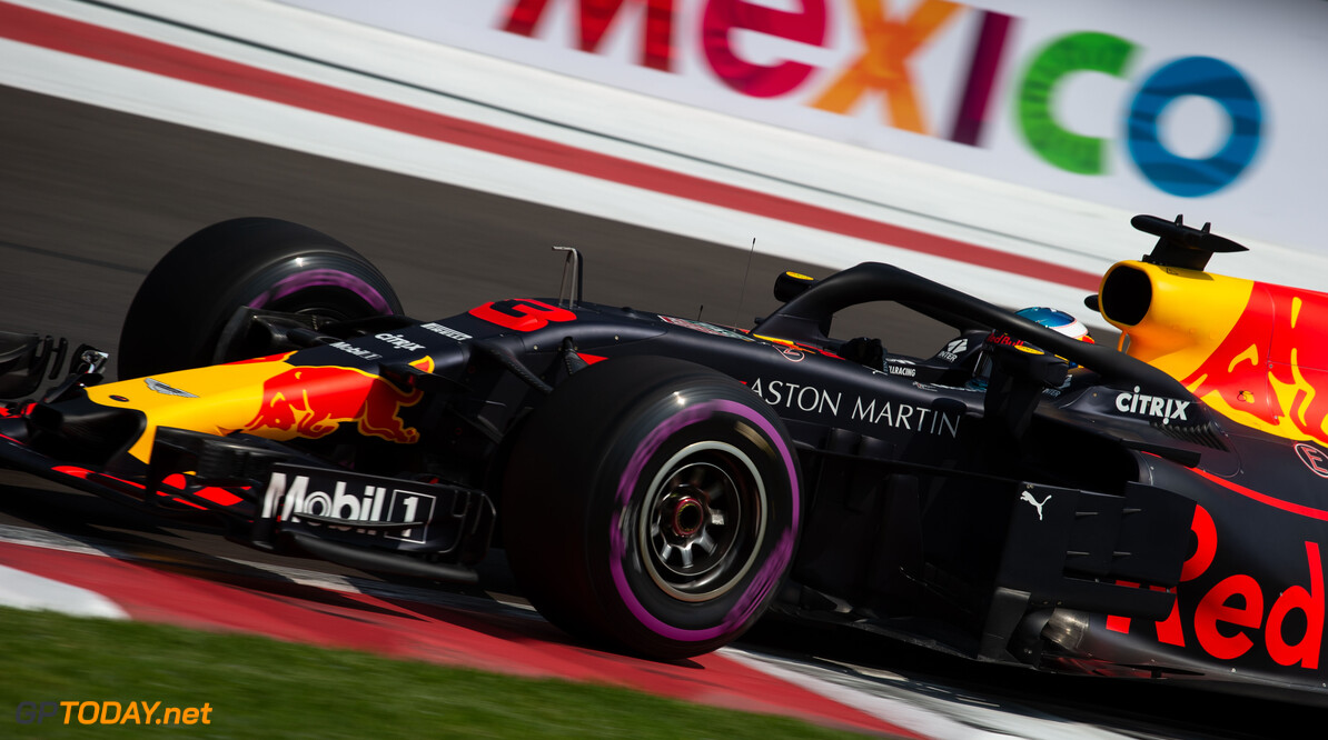 <b>Overzicht</b>: De startopstelling voor de Grand Prix van Mexico