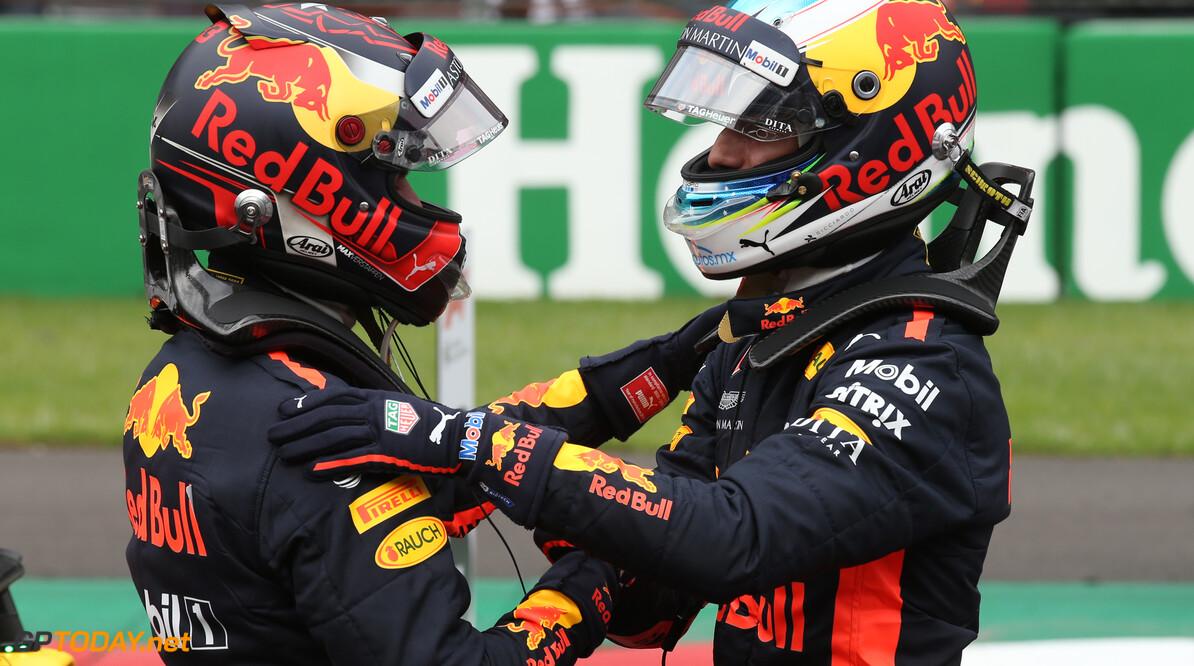 """Horner: """"Max en Daniel het beste duo in de historie van Red Bull Racing"""""""