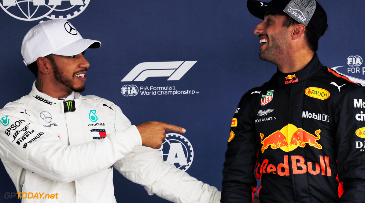 Ricciardo voerde meerdere gesprekken met onder andere Mercedes
