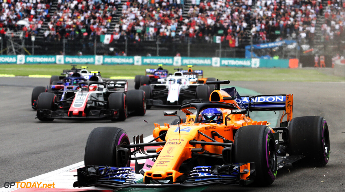 'One in a million' incident ended Alonso's day