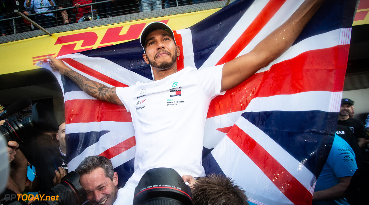Hamilton heads F1 drivers' top ten of 2018 list