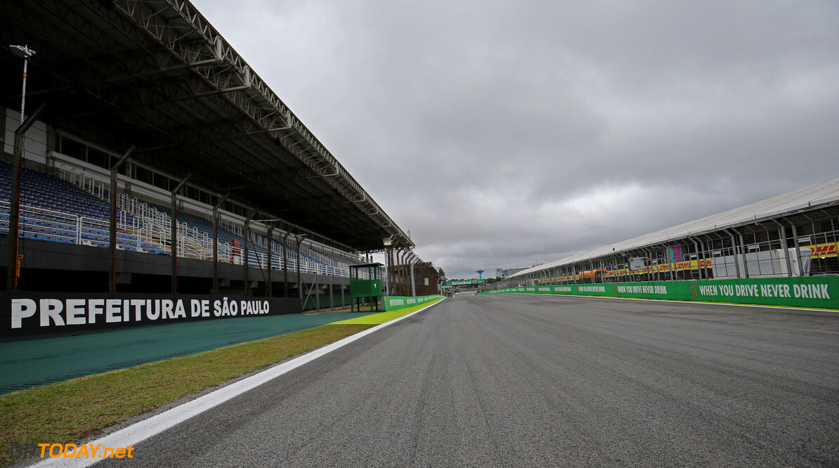 Weather forecast for the Brazilian Grand Prix weekend