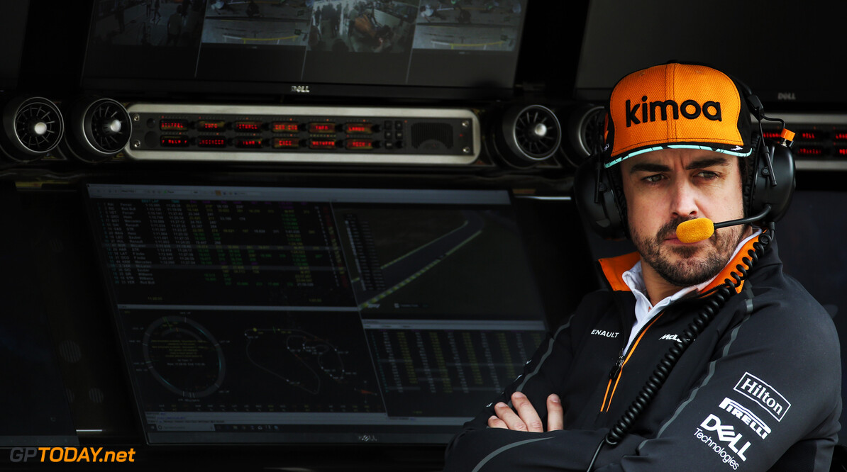 McLaren plays down Alonso test role in 2019
