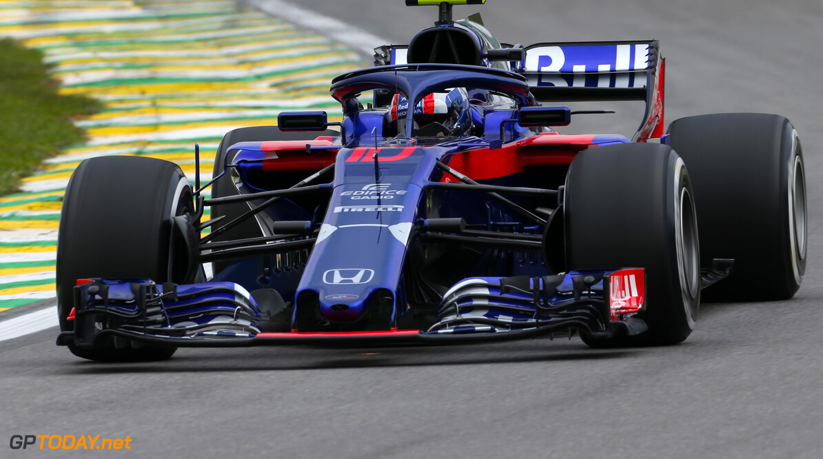 Gasly refused to let Hartley by at Interlagos