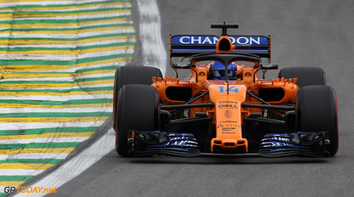 Alonso zou de nieuwe auto van McLaren kunnen testen