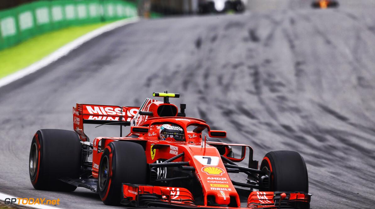 """Kimi Raikkonen: """"Was een leuke race met mooie gevechten"""""""
