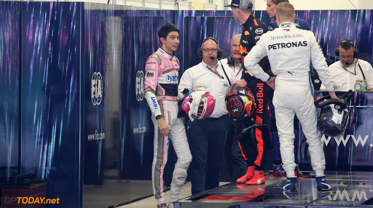 Ocon hits out at 'unprofessional' Verstappen