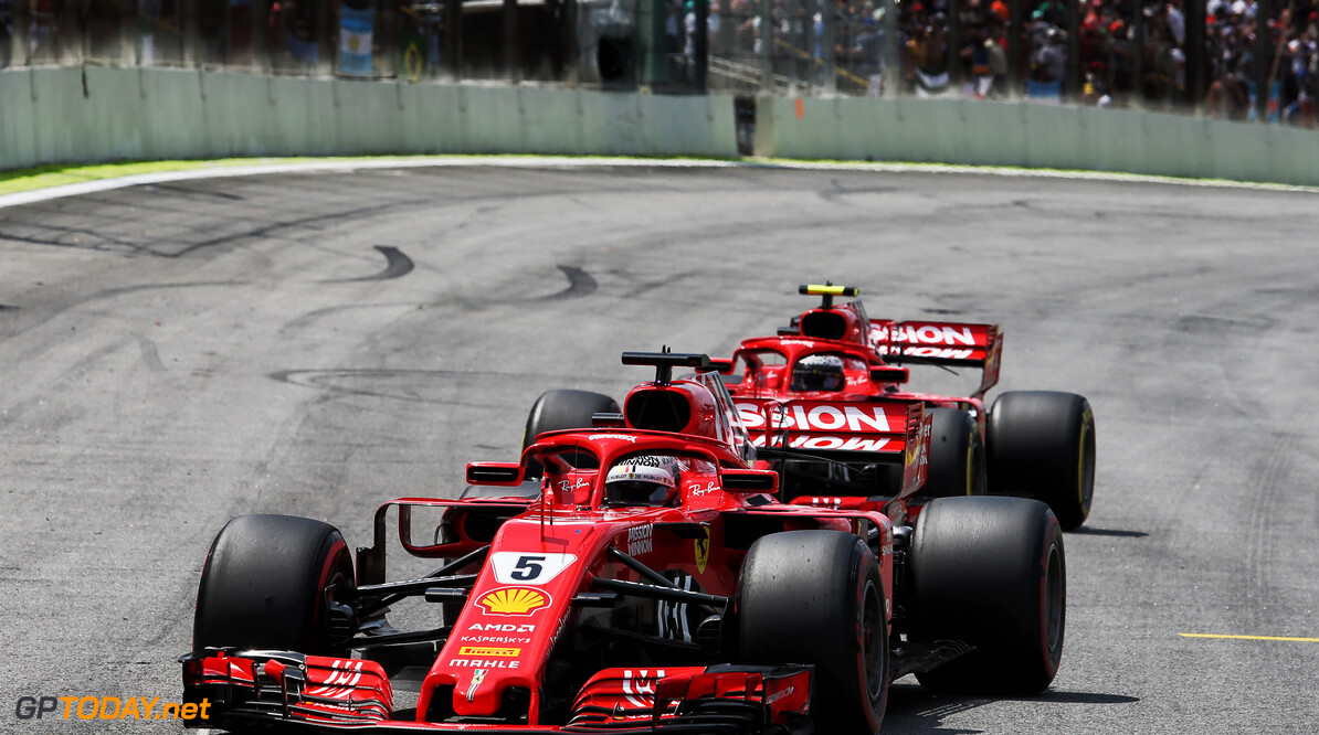 Teamorders van Ferrari deerden Vettel niet