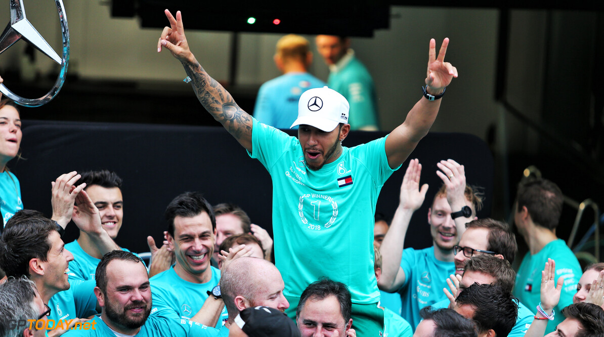 Hamilton was stronger after title win - Wolff