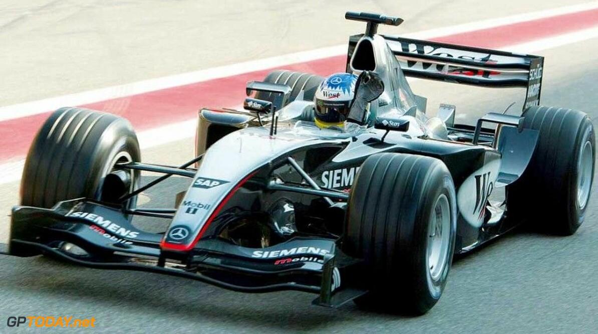 <strong>Historie:</strong> Haven't made the grid: McLaren MP4-18 Adrian Newey's auto die niemand wilde besturen