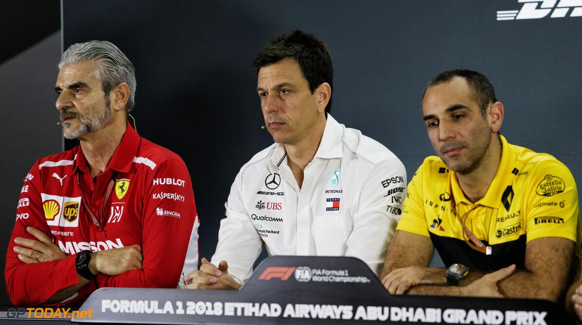 Renault wil in de winter op gelijke hoogte komen met Ferrari en Mercedes