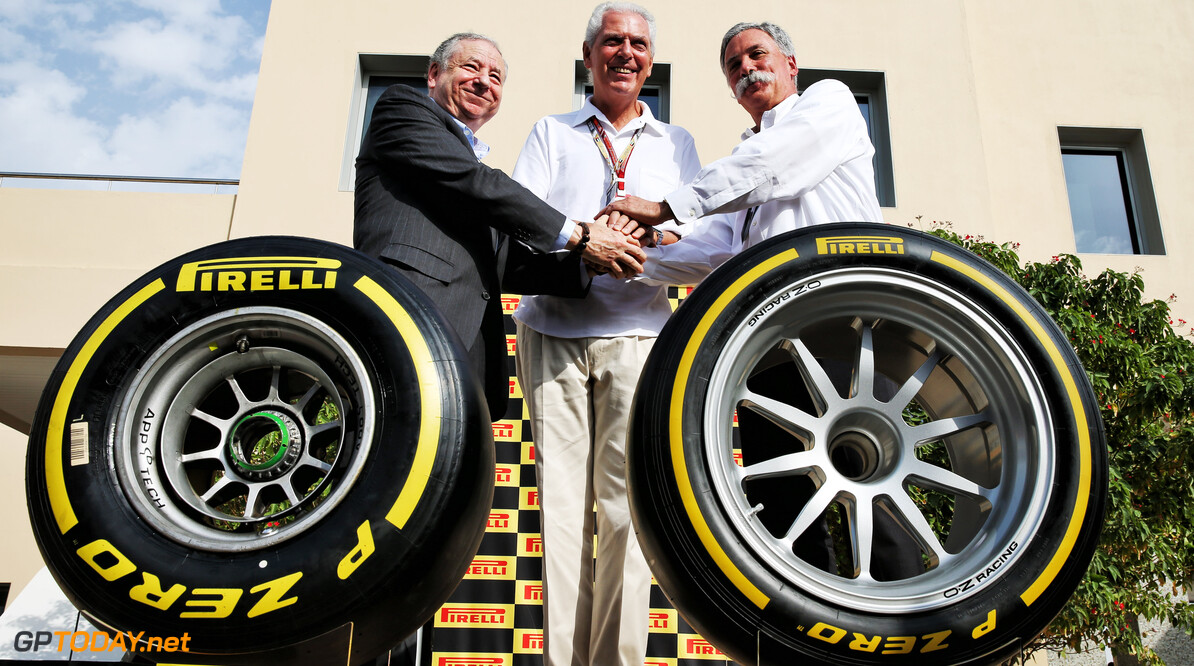 Pirelli aims for 18-inch tyre tests in 2019